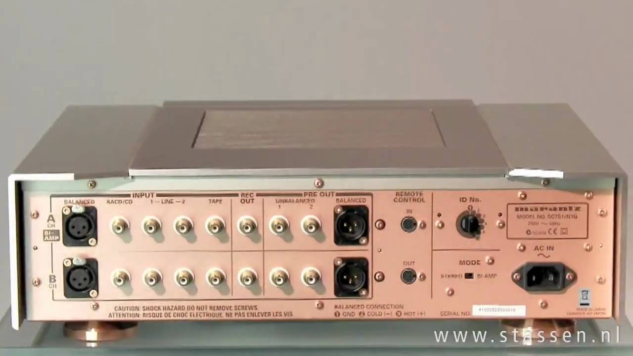 Marantz Sc 7s1 Youtube 11s1 Preamplifier
