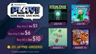 Stealth Inc - A Clone In The Dark Level Editor - PlayStation Store PLAY 2013