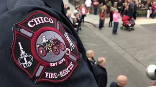 Memorial ceremony for fallen Chico Fire Marshal Ray Head