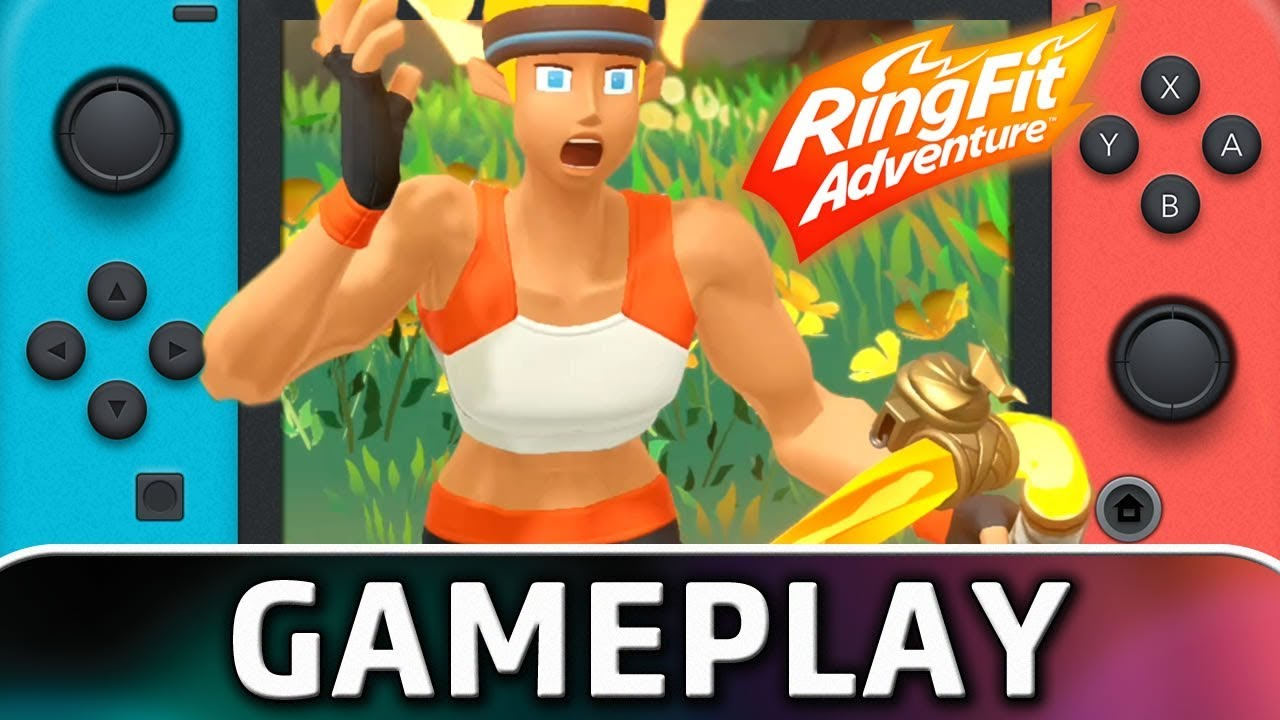 Ring Fit Adventure   First 25 Minutes on Nintendo Switch