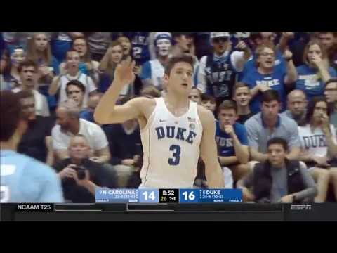 Grayson Allen Senior Night Steal and Monster Dunk