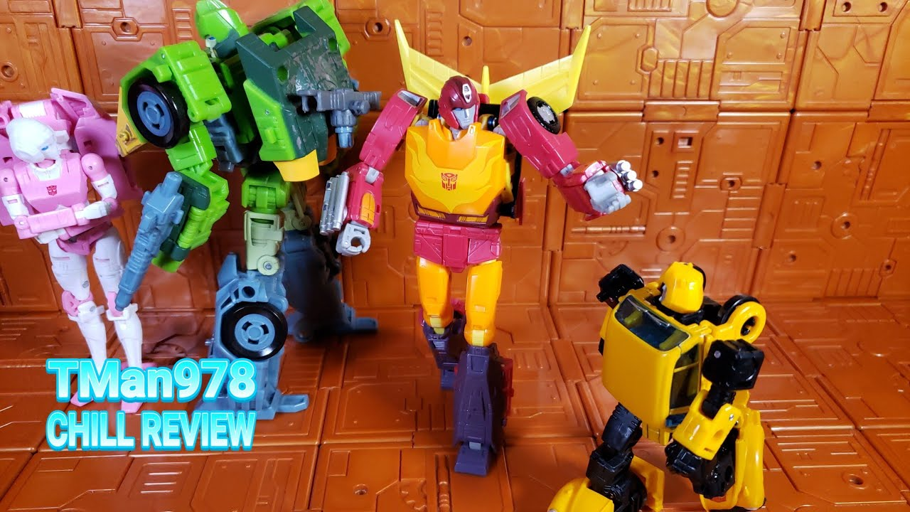Transformers Studio Series 86 Hot Rod CHILL REVIEW