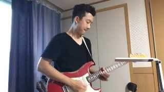 Eric Clapton - Forever man guitar solo cover