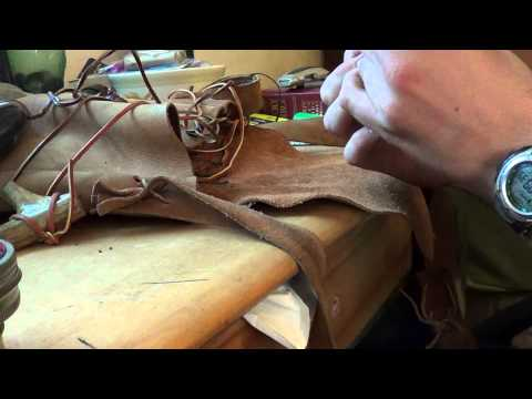 How to make paper cartridges for a muzzleloader