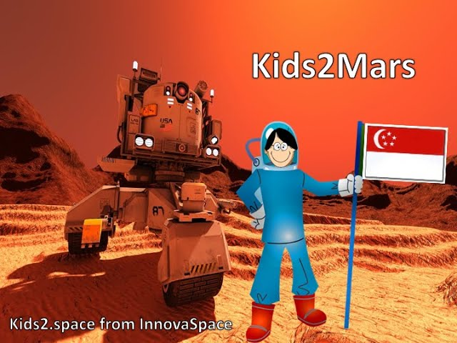 ENG Kids2Mars | Singapore - How were the volcanoes on Mars formed?