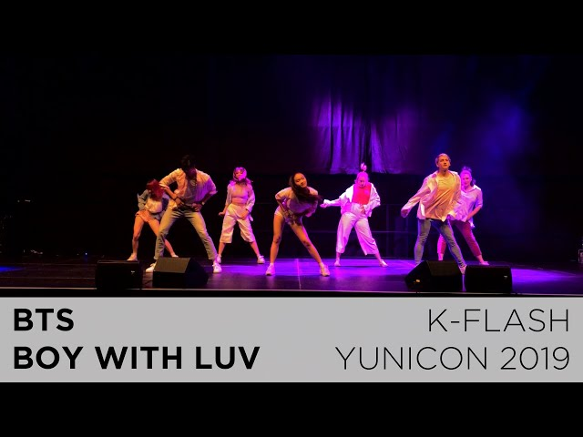 BTS - Boy With Luv | Dance Cover:  K-FLASH @ Yunicon 2019