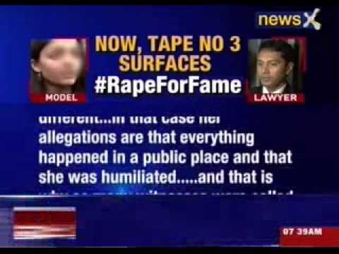 Mumbai model and her ex-lawyer caught on tape