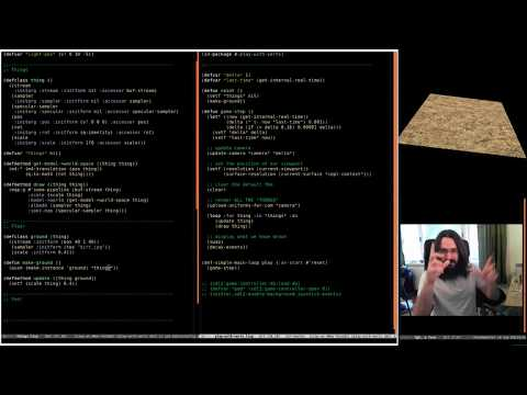 Pushing Pixels with Lisp - Episode 8 - Plant Generation
