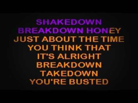 SC2159 03   Seger, Bob   Shakedown [karaoke]