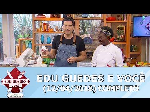 Edu Guedes Ensina Receita De Bolo De Chocolate Com Marshmallow E Bolo Gelado