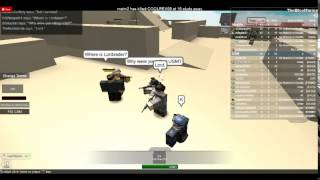 ROBLOX- Part 1- USM Raid.
