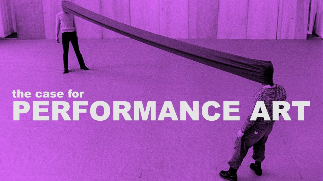 What Is Performance Art We Explain It With Video Introductions And Classic Performances Open Culture