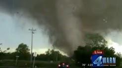 Live Tornadoes KFOR May 9, 2016 (Wynnewood, Katie, Sulphur, Stillwater Tornados)