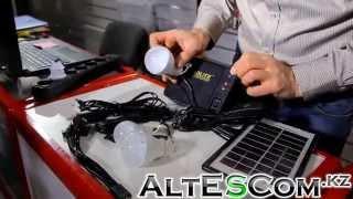 Сонячна батарея для мобільних пристроїв і освітлення GDLITE GD-8006 А