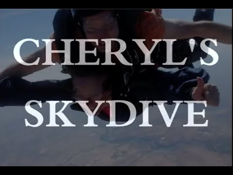 Cheryl Celebrates her 60th Birthday Sky Diving!