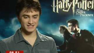 Daniel Radcliffe on new Harry Potter film - BBC Breakfast