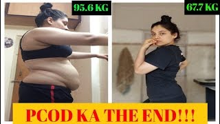 FREE PCOD PCOS DIET PLAN for WEIGHT LOSS - I lost 28 kg in 6 months with this diet