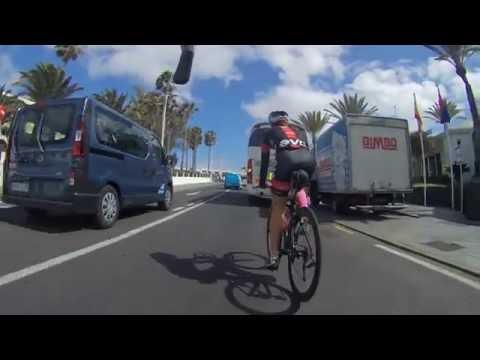 Easy 50km Ride - Puerto Del Carmen To El Golfo, Lanzarote - 2016 Ironman Week