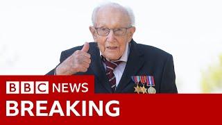 Captain Sir Tom Moore dies with coronavirus - BBC News