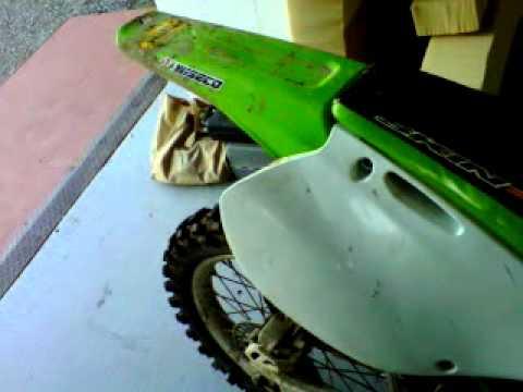 Kawasaki kx 125 2000 FMF pipe