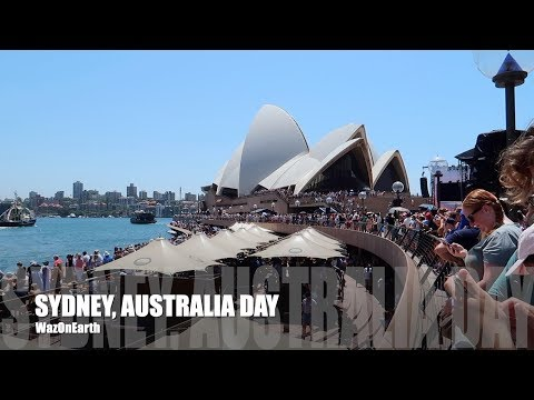 SYDNEY HARBOUR AUSTRALIA DAY 2019