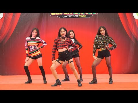 171125 BUSABA(บุษบา) cover BLACKPINK - Intro + PLAYING WITH FIRE + BOOMBAYAH @ The Paseo Town 2017