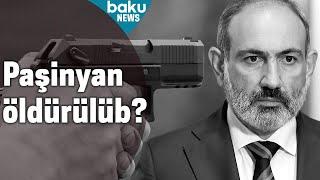 Ermənistan baş nazirinin avtomobilinə silahlı hücum