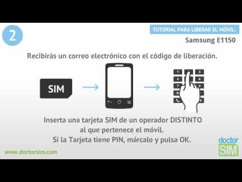 Liberar móvil Samsung E1150 | Desbloquear celular Samsung E1150