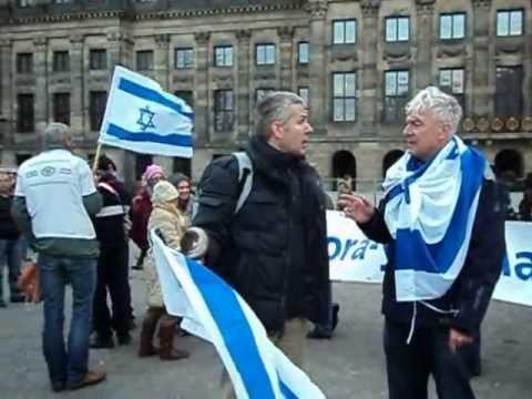 Pro israel demonstratie amsterdam israel we love you for Demonstratie amsterdam