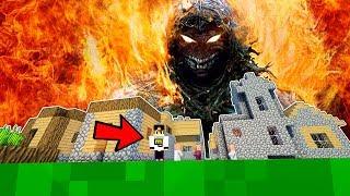 Вампир призвал Древнее ЗЛО в Мир Майнкрафт Выживание в деревне жителей нуб и про Видео Мультик
