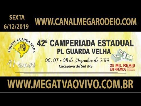 42ª Camperiada Estadual do PL Guarda Velha  Sexta  06/12/2019-Caçapava do Sul-RS