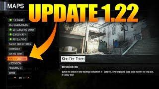 COD BO3 UPDATE 1.22!!