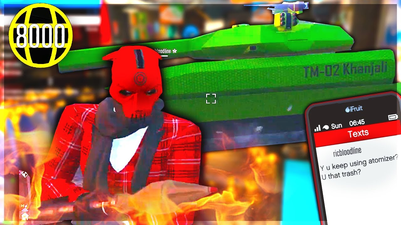 I Think I Met The Stupidest Level 8000 on GTA 5 Online! (Hides In a Tank But Ragequits)