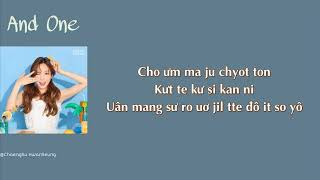 Gambar cover [Phiên âm tiếng Việt] And One - Taeyeon (SNSD) (That Winter, The Wind Blows OST Part.5)
