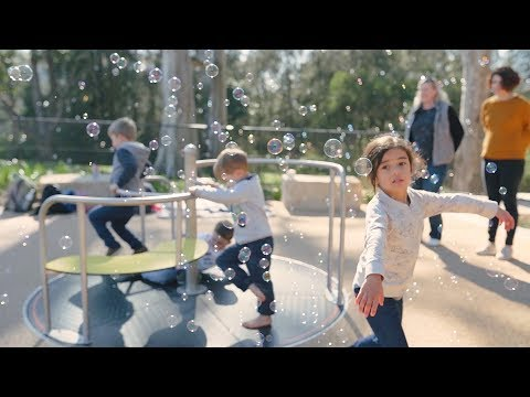 Everyone Can Play At Paperbark Park In Parramatta