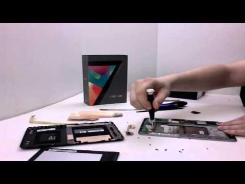 Google Nexus 7 Tablet Take Apart Teardown Guide