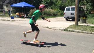 CDS MI Longboarding - Showing Off at Better Block