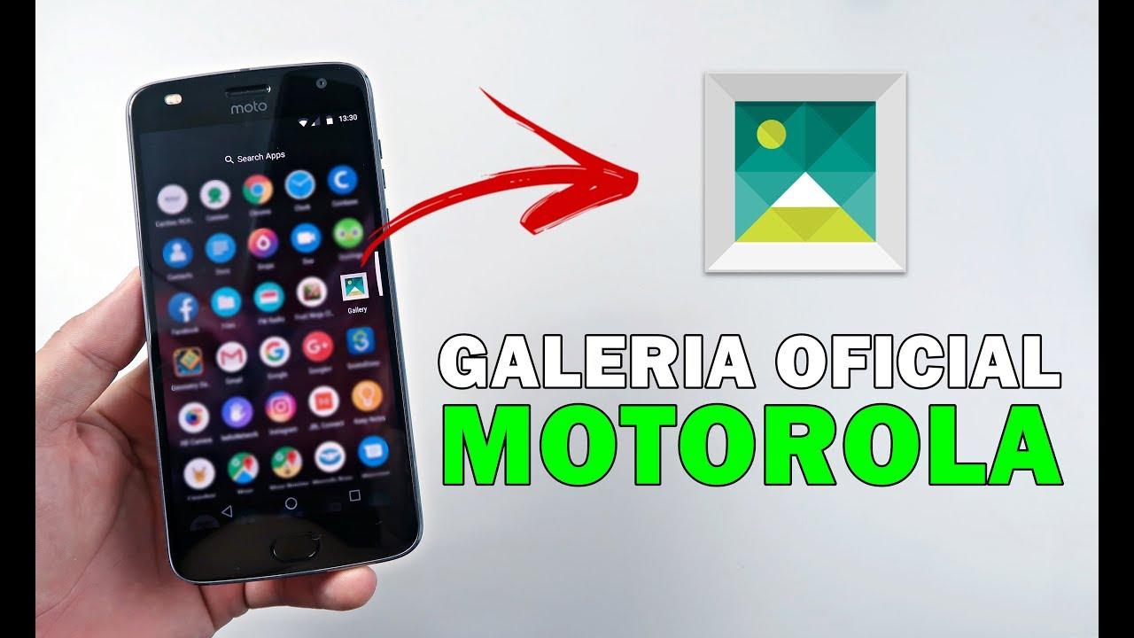Como Baixar e Instalar a Galeria Oficial no Motorola Moto Z² Play #UTICell