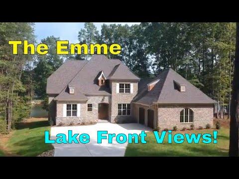 Custom French Provincial Home Walkthrough / Mike Palmer Homes Inc. Denver NC Home Builder
