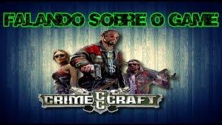 CrimeCraft GangWars Gameplay Falando Um  Pouco Do Game