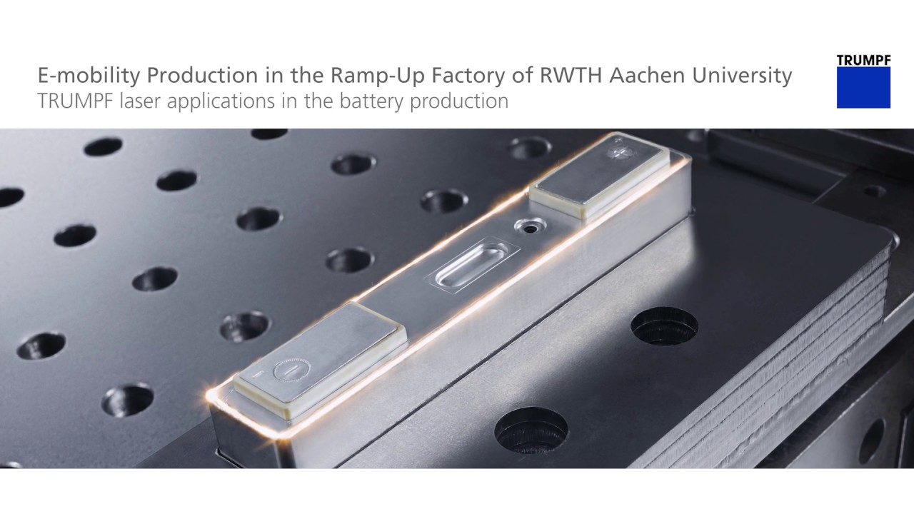 Rs Möbel Aachen Trumpf Laser Welding E Mobility Production In The Ramp Up Factory Of Rwth Aachen University