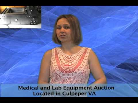 Medical and Lab Equipment Auction