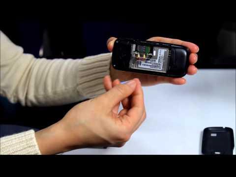 Nokia2330C SIMカードの挿入方法