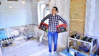 Купил квартиру для майнинга за 500 ЕВРО