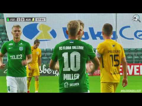 Flora Tallinn Kuressaare FC Goals And Highlights