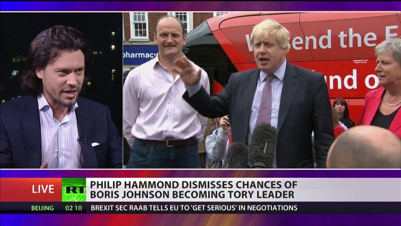 Philip Hammond dismisses chances of Boris Johnson becoming Tory leader