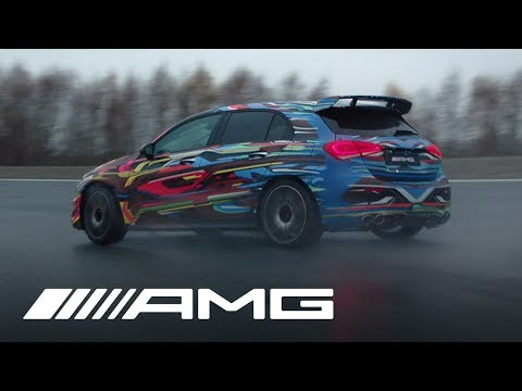 Check Out the Mercedes-AMG A45's Drift Mode in Action