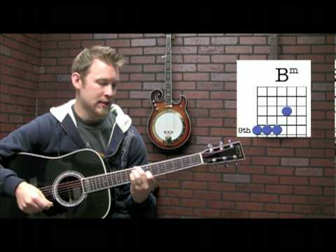Basic DADGAD Chords - YouTube