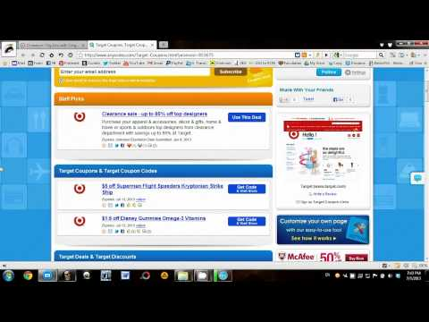 85% Off Target Coupons 2013: Promo Codes, Coupon Codes For Free Shipping, Sales