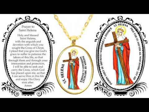 Saint Helena Patron of Difficult Marriages & Divorce Art & Prayer